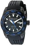 Locman Italy 0216V3-CBCBNKBS2K Stealth - Orologio da uomo con display analogico a 300 metri, automatico, colore: nero