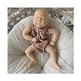 HDBD muñecas Cama de bebé recién Nacido Juguete para Dormir Accesorios para bebés Reborn Decoración de la habitación del bebé Muñeca de Vinilo ecológica Juguetes agradables
