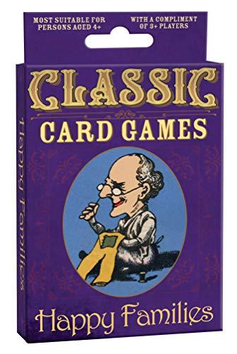 Cheatwell Games vergangener Tage Happy Families Kartenspiel