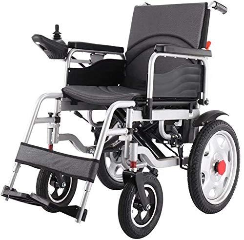 KILLM Rollstuhl für ältere Und Behinderte Menschen, Selbstfahrender Faltrollstuhl, Orthopädischer Rollstuhl, Elektrorollstuhl Mit Verstellbarer Rückenlehne, 360 ° Joystick, Polymer-Li-Ionen-Batterie