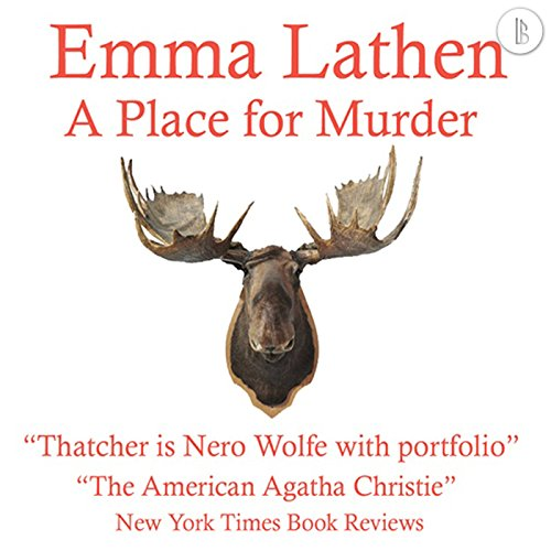 A Place for Murder audiobook cover art
