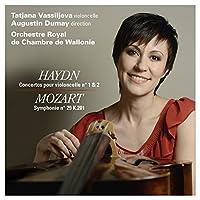 ハイドン : チェロ協奏曲第1番&第2番   モーツァルト : 交響曲第29番 (Haydn : Concertos pour violoncelle no.1 & 2   Mozart : Symphonie no.29 K.201 / T.Vassilijeva , A.Dumay , Orchestre Royal de Chamber de Wallonie) [輸入盤]