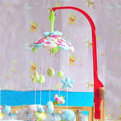 Lizeyu Musik Krippe rund um Baby-Musik-Glocke hängen Bettkopf hängen Baby Bettglocke