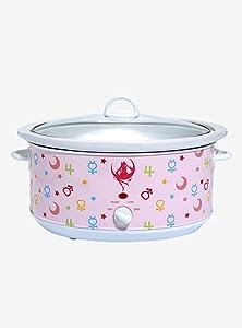 Sailor Moon Sailor Guardians Icons 7-Quart Slow Cooker