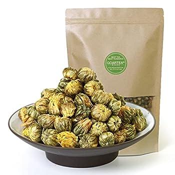 GOARTEA 250g / 8.8oz Premium Fetal Chrysanthemum Bud Dried Floral Herbal Chinese Flower Tea Loose Leaf