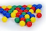 Bällebad24-1.000 Bällebad Bälle 8cm Ø, Tüv geprüft und zertifiziert 2019, in der Kindergarten & Gewerbequalität Babybälle Plastikbälle ohne gefähliche Weichmacher -
