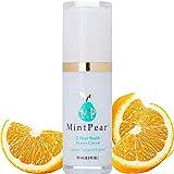 Vitamin C Serum for Face Facial Serum Anti Aging Wrinkle Reducer   Dark Circle, Fine Line & Sun Damage Corrector - Restore & Boost Collagen (15ml) Vitamin E, Essential Amino Acids  Airless PUMP