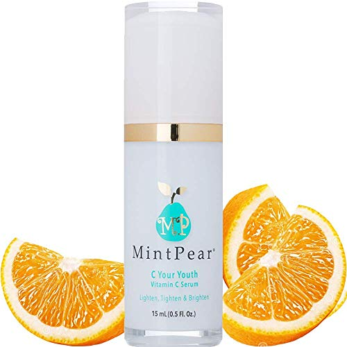 Vitamin C Serum for Face Facial Serum Anti Aging Wrinkle Reducer | Dark Circle, Fine Line & Sun Damage Corrector - Restore & Boost Collagen (15ml) Vitamin E, Essential Amino Acids |Airless PUMP