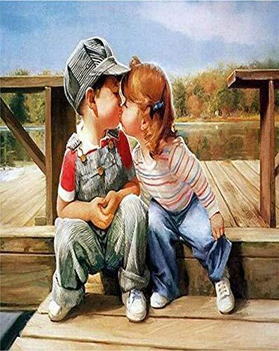 N/ A DIY schildernummers, schilderset voor kindermuurschilderingen, digitaal schilderij voor kinderen en volwassenen
