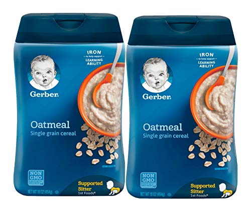 Gerber+1st+Foods+Baby+Cereal+-+Oatmeal+-+16+oz+-+2+pack