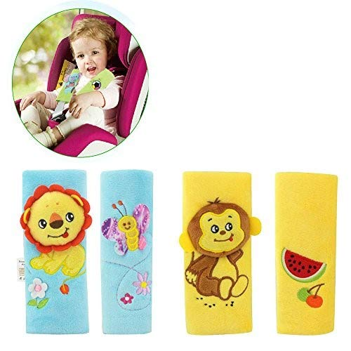 Infant and Baby Car Seat Strap Covers,Stroller Belt Covers,Head Support, Shoulder Pads