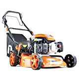<span class='highlight'>Hyundai</span> <span class='highlight'>Engine</span> <span class='highlight'>P1PE</span> <span class='highlight'>P4600SP</span>E <span class='highlight'>139cc</span> Petrol Lawnmowers <span class='highlight'>Self</span> <span class='highlight'>Propelled</span> Electric Start 18 Inch 46 Centimetre Cutting Width, Steel Deck Lawn Mower, Included <span class='highlight'>Engine</span> Oil, Orange