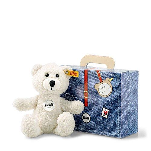Steiff Teddyb.Sunny 22 im Koffer, creme, 113352