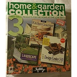 Homes & Garden Collection - Kitchen Gourmet, Landscape, Design Center 3-D
