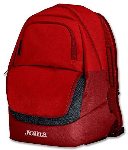 Joma Backpack Diamond II Mochilas, Unisex Adulto, Red, Talla Única