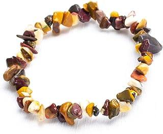Bracelet perles unisexe jaspe rouge l\u00e9opard h\u00e9matite pierre de lave labradorite AA jaspe argent 925  pierres semi-pr\u00e9cieuses