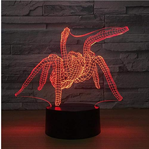 Nachtlicht Acryl Usb Nachttischlampe 3D Nachtlicht Touch Control Nachtlicht Birnen...