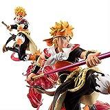 Huhu Anime Naruto Shippuden Figures Uzumaki Naruto Et Son Fils À Quatre Queues Goku Ver.PVC Action ...