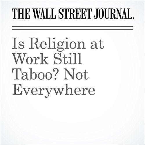 Is Religion at Work Still Taboo? Not Everywhere copertina