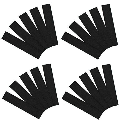 20 x vervangvilt voor rakel viltrand folierrakel kleefhulpmiddel folies rakelvilt