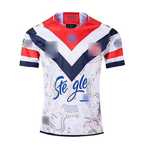 Rugby-Trikot für Erwachsene, Rugby-Uniform-T-Shirt der Australian Hero Edition 2019, Jugendtrainings-Trikot-L