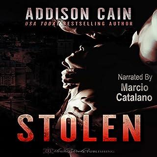 Stolen audiobook cover art