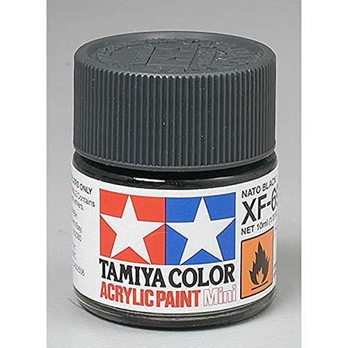 TAMIYA XF69acril Mini schwarz NATO