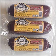 product image for 9OZ HOT & Spicy Summer Sausage W/Reindeer- 3 Pack
