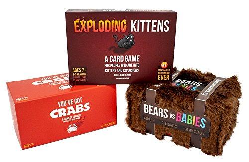 Exploding Kittens: Game Night Bundle