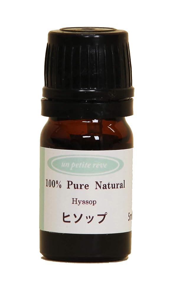 プレビスサイト進む流体ヒソップ 5ml 100%天然アロマエッセンシャルオイル(精油)