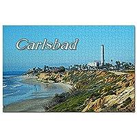 アメリカアメリカカールスバッドステートビーチジグソーパズル1000ピースゲームアートワーク旅行お土産木製