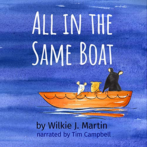 All in the Same Boat audiobook cover art