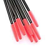 Shintop Disposable Silicone Eyelash Mascara Applicator Wands (Tower-Shape)