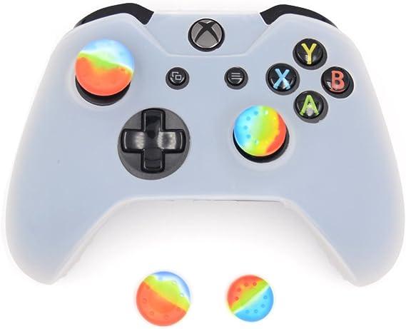 eSeeking White Silicone Cover Skin Case for Microsoft Xbox one