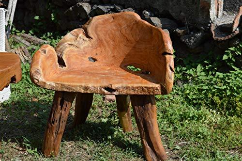 Chaise en Briar 67x44 Hauteur Assise 47 Meubles orientaux Ethniques indonésiens