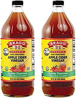 Bragg Organic Apple Cider Vinegar, Miracle Cleanse Concentrate, 32 Ounce (32 Ounce. 2-PACK)