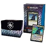 Magic The Gathering- Deck Commander Forgotten Realms : Aventuras en los reos oubléticos - Donjones mortales (Blanco-Azul-Negro)