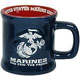 United States Marines Ceramic Relief (3-D) Mug