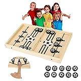 Juego de disco rápido de cabestrillo, ganador de ritmo, juegos de mesa portátiles, ganador de juegos de mesa divertidos juguetes para adultos padres e hijos interactivos de ajedrez