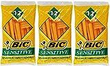 Bic Single Blade Shavers Sensitive Skin - 12 ct (3...