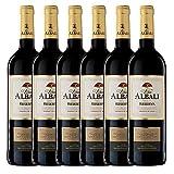 Viña Albali Reserva D.O. Valdepeñas - Paquete de 6 x 750 ml - Total: 4500 ml