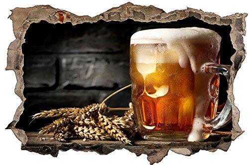 Bierkrug Bier Alkohol Wandtattoo Wandsticker Wandaufkleber D1375 Größe 70 cm x 110 cm