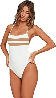 LSpace Women's Color Block High Impact X-Back One Piece Swimsuit Swimsuit