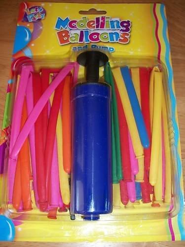 Anker fête Contrebande 15-Model Ballons et Pompe, Plastique, Multicolore