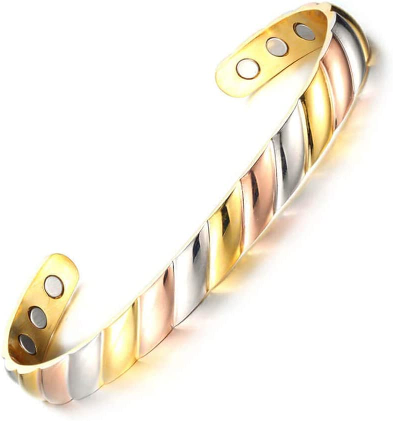 Wollet Shipping included Pure Copper Bracelet for Arthritis Pain and Joint 2021 model Magneti