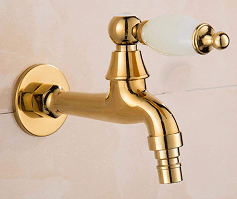 CFHJN HOME European Style Single Cold Single Hole Sink Faucet