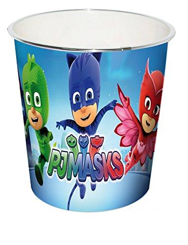 Kids PJ Masks Papierkorb, blau, 24 x 24 x 24 cm