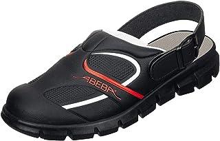 Abeba 7332-41 Dynamic Chaussures sabot Taille 41 Noir/Rouge