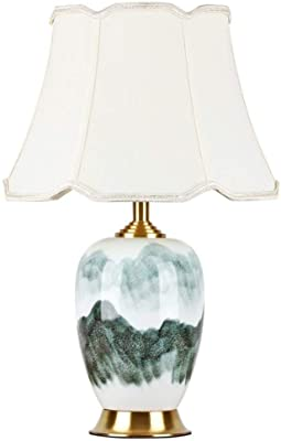 Lámparas de escritorio Lámpara de mesa de cerámica hotel sala de ...