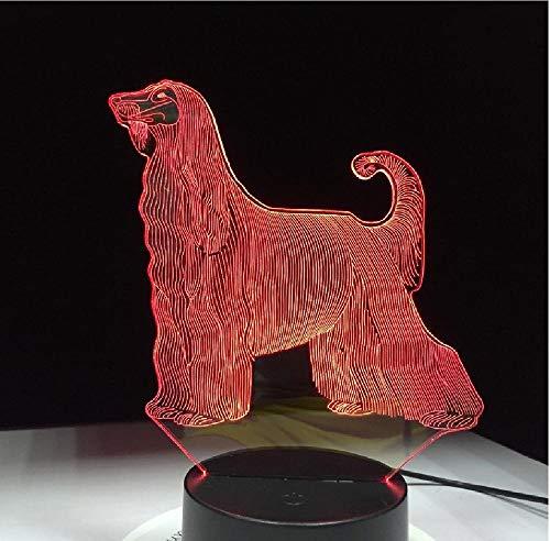 Dinosaurus Dieren tafellamp meerdere kleuren wisselen bureaulamp 3D LED nachtverlichting met USB-kabel afstandsbediening telefoon Bluetooth control kleur